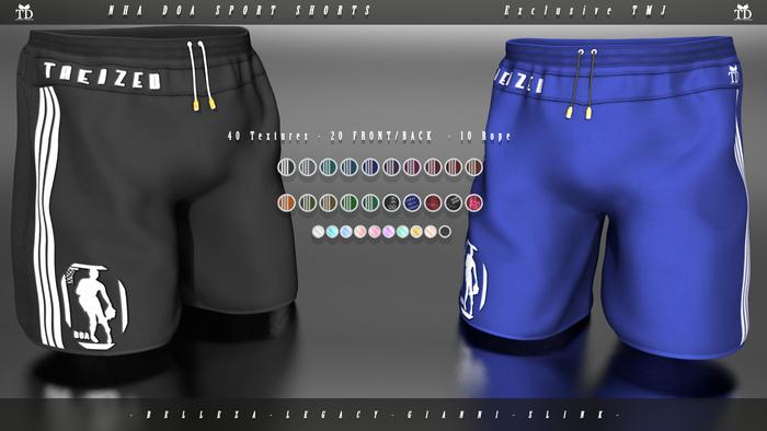 """""""TD"""" NHA DOA Sport Shorts FATPACK"""
