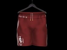 """""""TD"""" NHA DOA Sport Shorts Red"""
