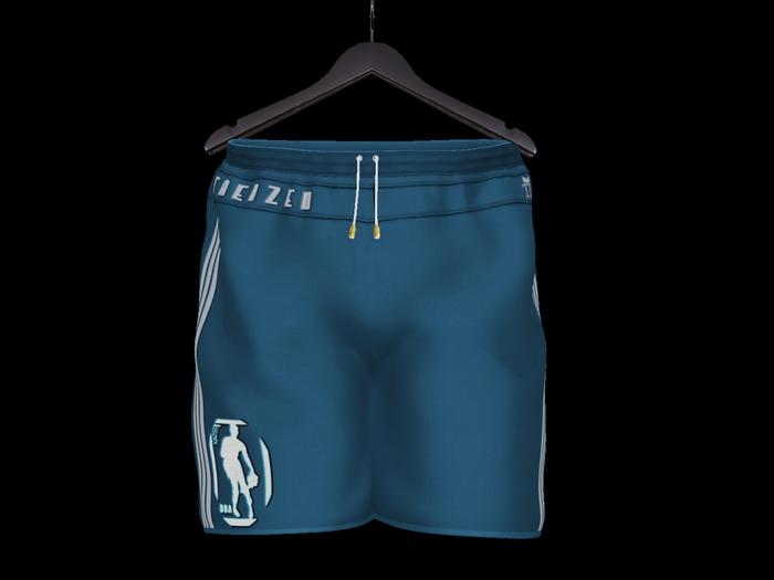 """TD"" NHA DOA Sport Shorts Blue"