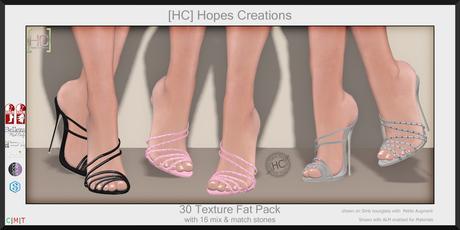 [HC] Grace Gem Heels Fat Pack for Slink, Belleza, Maitreya, eBody, Signature & Tonic