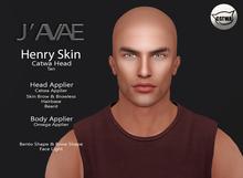 [J'AVAE] Henry Skin Tan - Catwa & Body Applier
