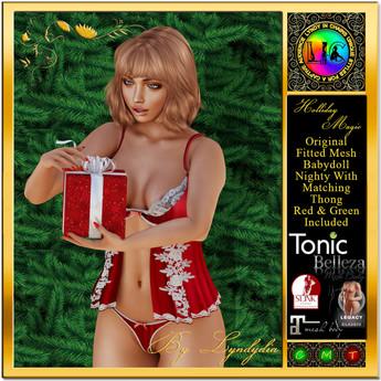 Holliday Magic Xmas Gift