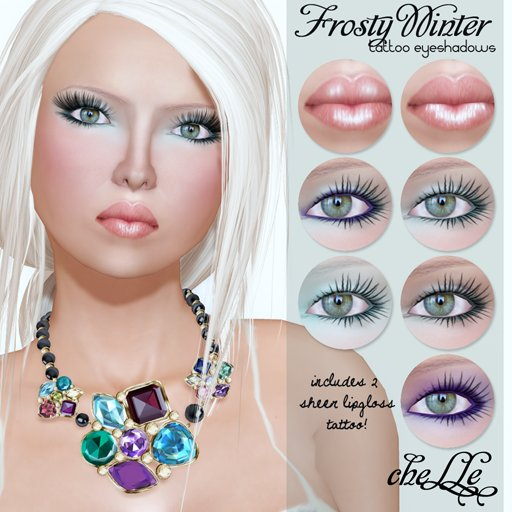 cheLLe (eyeshadows) Frosty Winter