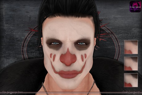[ t.s.t ] Clown Facepaint [ WEAR & CLICK ]
