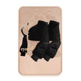 Cynful Fashionista Cropped Cardigan - Black
