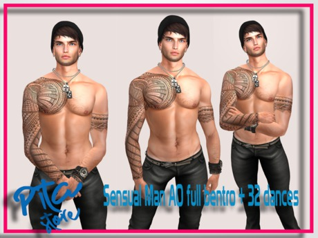 ::PITA:: Sensual Man  AO -- Full Bento -- (wear me)