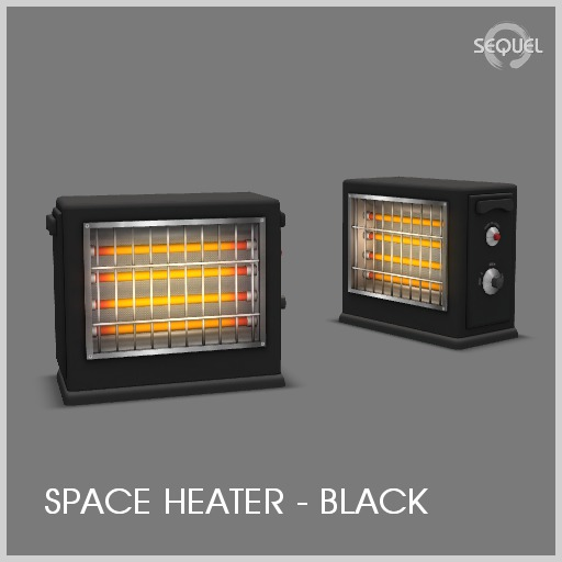 Sequel - Space Heater - Black