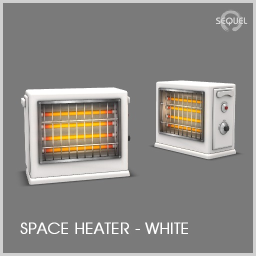 Sequel - Space Heater - White