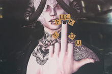 *!R.O!* Scrabble BENTO Pose w/ Mesh Letters