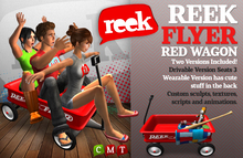 Reek - Reek Flyer Red Wagon