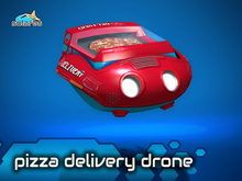 solares >> Pizza Delivery Drone
