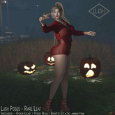 Lush Poses- Rare Leaf - Female Bento pose