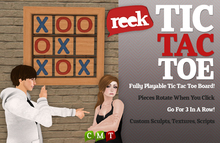 Reek - Tic Tac Toe - Wall decoration and game
