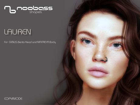 :NoobaSS: LAUREN  shape for GENUS Project head