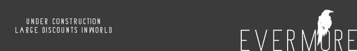 Evermore logo wip black