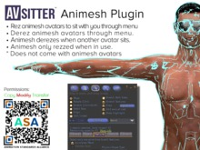 ASA Animesh System for AVsitter