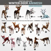 SEmotion Libellune Winter Deer Animesh #16