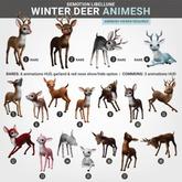 SEmotion Libellune Winter Deer Animesh #8