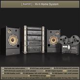 [ kunst ] - Hi-fi home system (FULL SET)