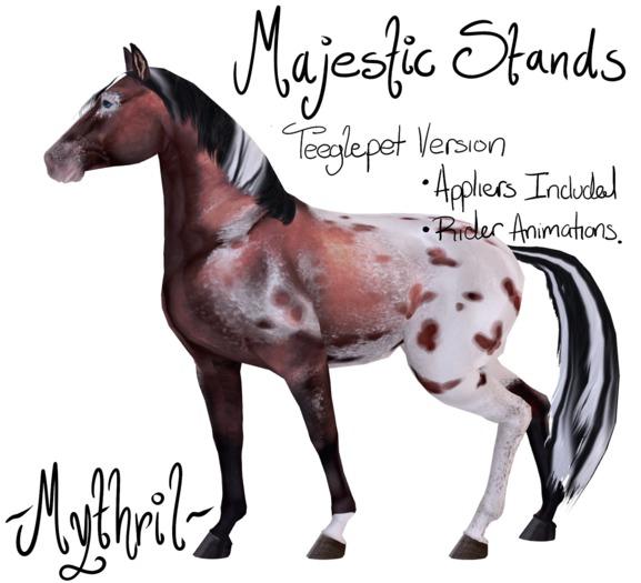~Mythril~ Teeglepet: Majestic Stands