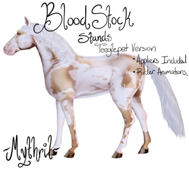 ~Mythril~ Teeglepet: Blood Stock Stands