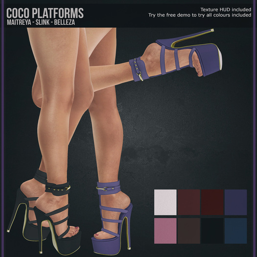 Tooty Fruity - Coco - Platforms