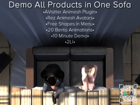 Demo All PG Products in One Sofa (and one bed) by ASA [Animation Standards Alliance]