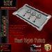 KDC Padlock Valentine Metal (3 pieces)