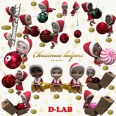 D-LAB Christmas helpers (FULL SET)