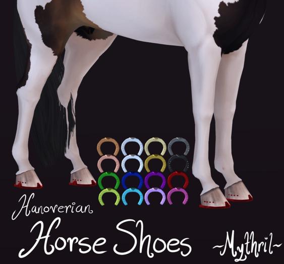 ~Mythril~ Hanoverian Horse Shoes