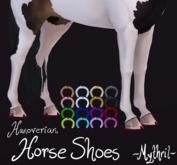~Mythril~ Hanoverian Horse Shoes (Teeglepet Hanoverian Only)