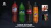 Soda bottle ad