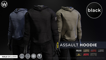 [WAZ] Assault Hoodie (Black) BOXED [Add/Rezz]