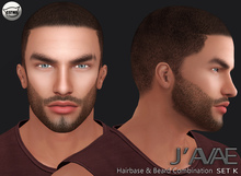 [J'AVAE] SET K - Hairbase & Beard Combination - Catwa