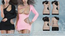 *Vanilla Bae* Amelie Dress - 24 Color Fat Pack - Strip Me Collection - Maitreya / Freya / Legacy / HG