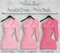 *Vanilla Bae* Amelie Dress - Pink 3 Pack - Strip Me Collection - Maitreya / Freya / Legacy / HG