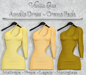 *Vanilla Bae* Amelie Dress: Cremes Color Pack (Add Me)