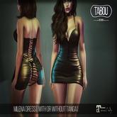 TABOU. Milena Dress -Fatpack (ADD!)
