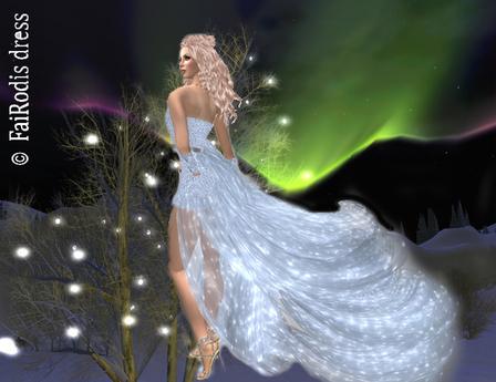 FaiRodis Frozen Wind mesh dress pack