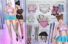 Caboodle - Decora Backpack - Pink