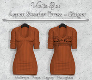 *Vanilla Bae* Aspen Dress -  - Strip Me Collection - Maitreya / Freya / Legacy / HG