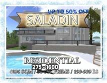 Furnished 4096 sqm land w/200+ houses & Bulk Prims