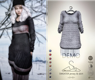 [sYs] SWEATER jersey & skirt (body mesh) - DEMO