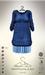 [sYs] SWEATER jersey & skirt (body mesh) - blue