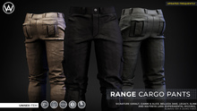 [WAZ] Range Cargo Pants (Black) BOXED [Add/Rezz]