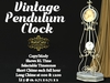.: RatzCatz :. Vintage Pendulum Clock
