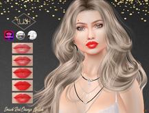 Lush - SMACK - orange red lipstick - Omega, Catwa, Lelutka