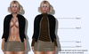 Bycrash full perm mesh  leather jacket outfit add 3