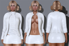 Bycrash full perm mesh  leather jacket outfit add 4