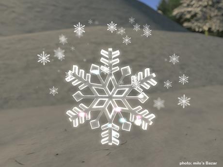 Snow Flake TIpjar